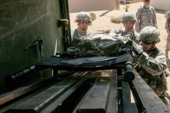 At Fort Bliss course, Army medics vie to make the cut