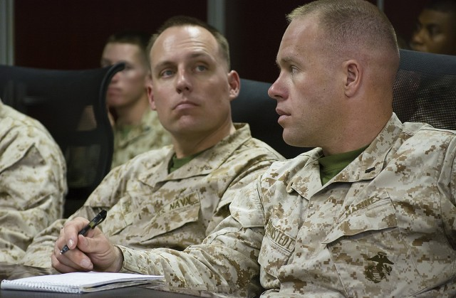 Marines visit APS-5, strengthen joint logistics relationships