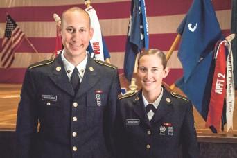 South Dakota couple graduate basic training together