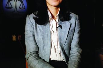 Korean legal advisor walks softly but carries a big hammer