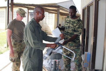 South Dakota National Guard and Suriname Armed Forces partner to renovate school