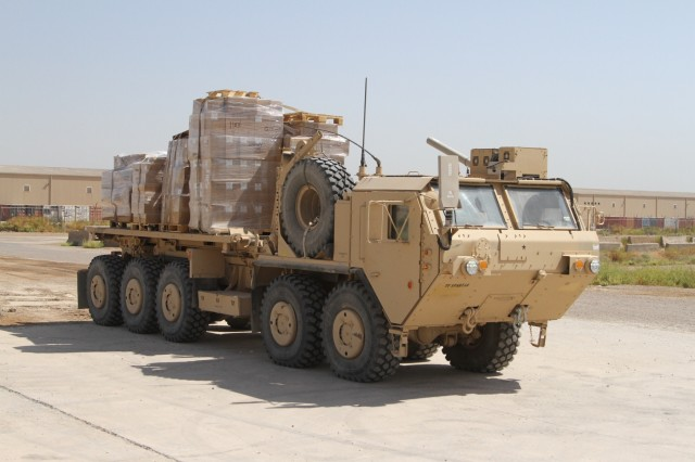 Iraqi Train and Equip Fund parts distributed