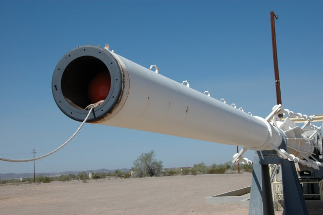 Of the three that were built, only Yuma Proving Ground's HARP gun remains in operational condition today.  It last fired in 1992.
