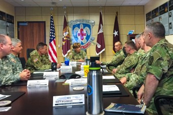 The Army Surgeon General visits Regional Health Command-Pacific