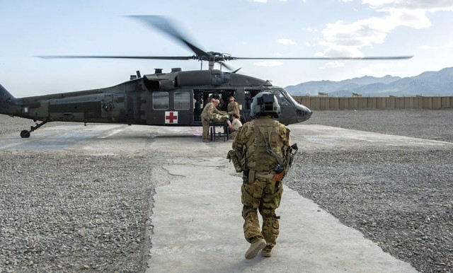 Survival rate of combat wounded improving