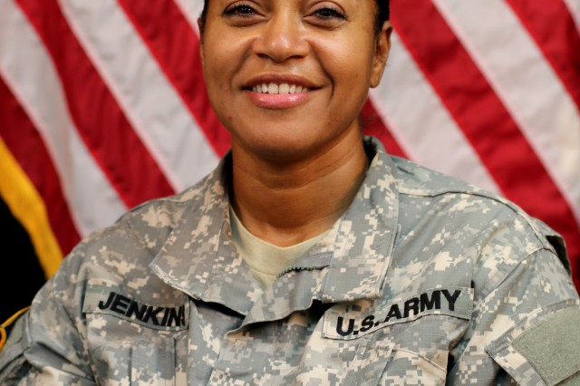Sgt. Nilda Jenkins, a mortuary affairs noncommissioned officer assigned to the Pennsylvania National Guard's 28th Infantry Division, is currently deployed to Kosovo with the Multinational Battle Group-East.