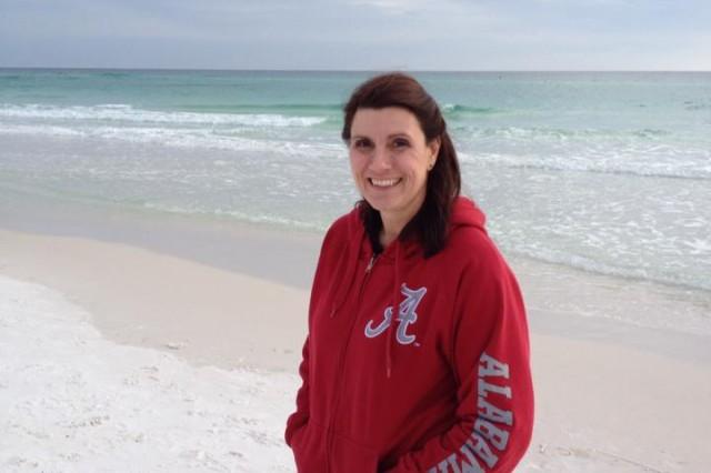 Joyce Myers vacations in Destin, Fla., August 2014.
