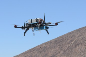 Unmanned aerial vehicle to provide battlefield intelligence