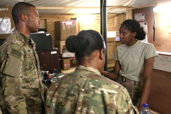 Postal team delivers Soldiers a taste of home