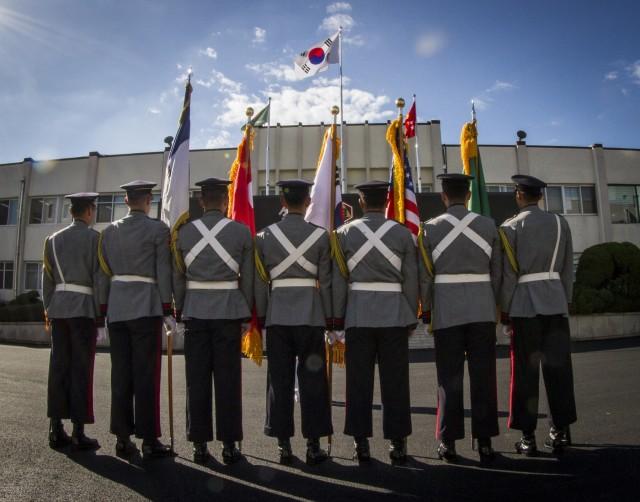 TROKA honor guard