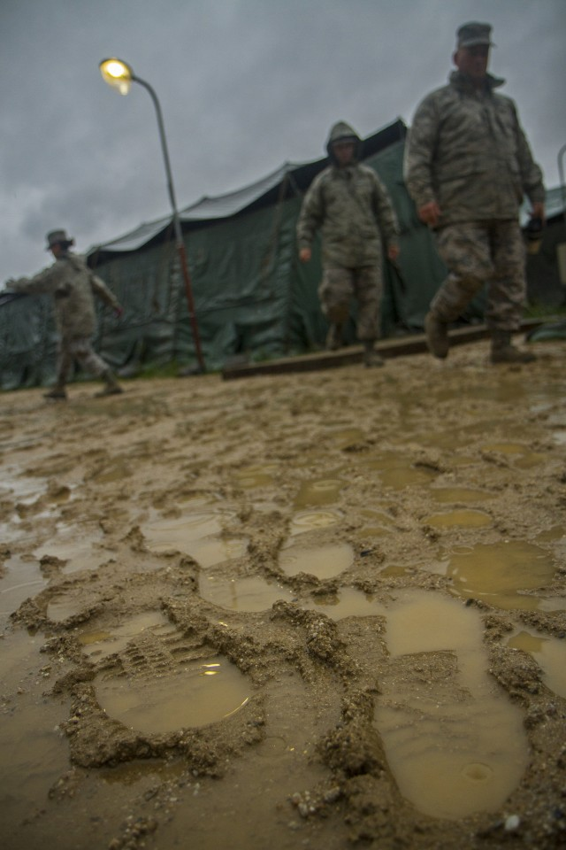 Boots on the Ground in Yongin