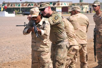 US Soldiers build elite Iraqi force with ranger training