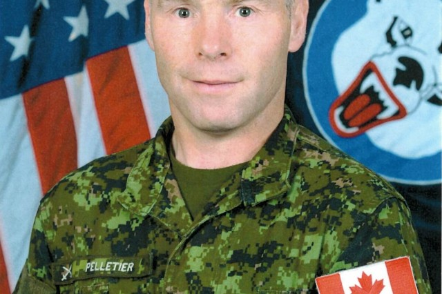 Canadian Col. Roch Pelletier is the Deputy Commander-Operations for United States Army Alaska. He assumed his duties in August of 2016. (U.S. Army official photo)