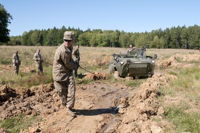 heavy vehicle mechanic army