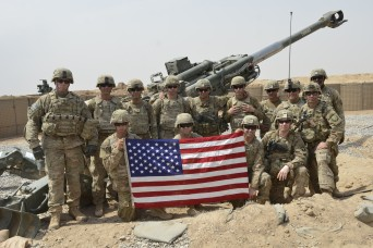 Commander Visits Troops at Firebase in Iraq