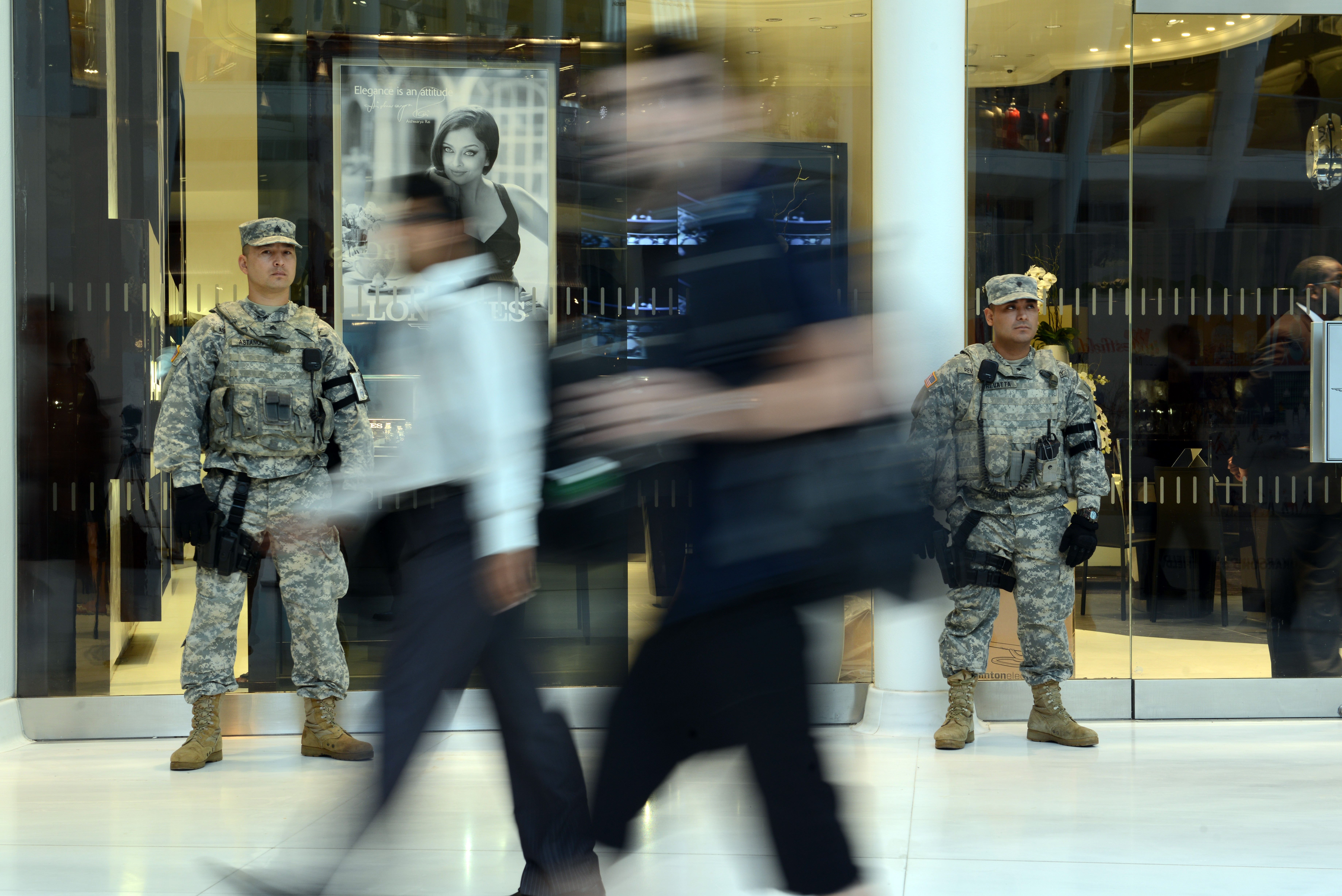 Empire Shield: Soldiers stand watch to prevent another 9/11