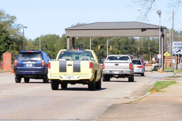 A file photo of traffic heading towards Daleville Gate.