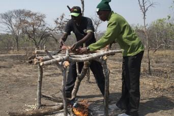 Tanzania rangers showcase anti-poaching skills