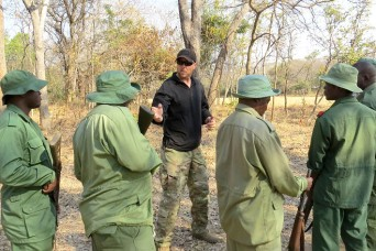 US Soldiers team with Tanzania rangers to combat poaching