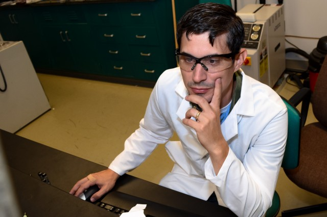Army materials scientist Dr. Kristopher A. Darling has been studying this nanostructures for about five years. He started working at the U.S. Army Research Laboratory after earning his doctoral degree from North Carolina State University in 2009.