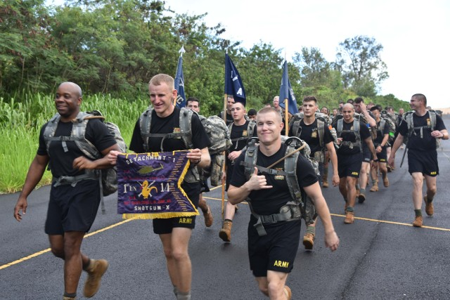 Going Out with a Bang! Golden Dragons walks across Oahu