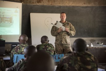 Eye in the sky: Task Force Hurricane teaches Kenyan Defense Forces how to fly