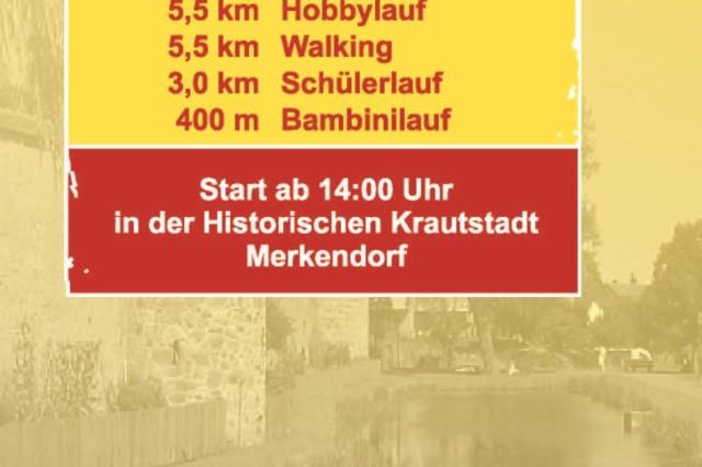 The towns of Merkendorf and Wolframs-Eschenbach partner in a fun run.
