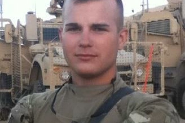 Sgt. Daniel Malm, shown wearing his Soldier Plate Carrier in Afghanistan.