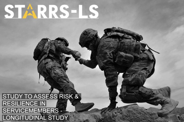 Graphic from STARRS-LS webpage based on original photo of Soldiers from the 4th Stryker Brigade Combat Team, 2nd Infantry Division, at Combat Outpost Sperwan Ghar, Afhanistan, in 2013.