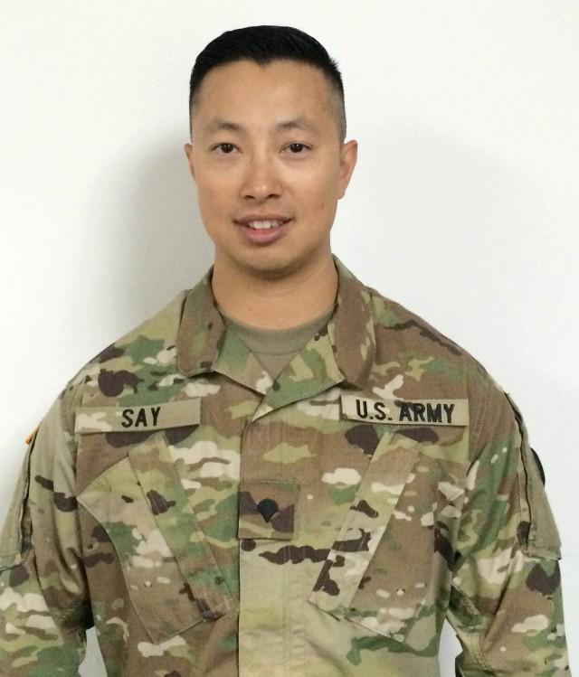 Meet Your Army: Spc. Sokuntea Say, 597th Transportation Brigade