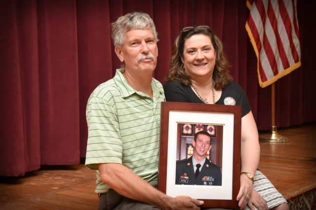 John and Lynn Patton, parents of Sgt. Matthew Patton, started a foundation in their son's name in 2013 to talk about the importance of suicide prevention.