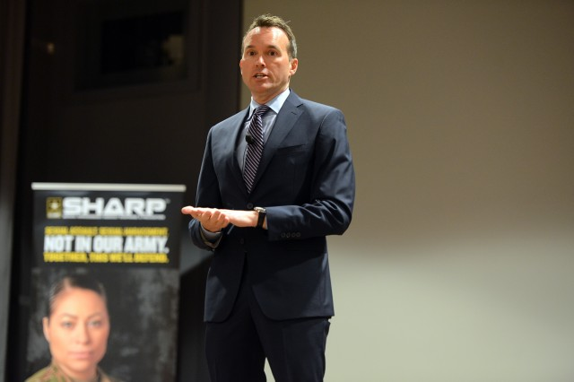 A lot of good work has been done across the Army responding to sexual assaults, but the Army needs to improve on its prevention efforts, said Secretary of the Army Eric K. Fanning, during the SHARP Program Improvement Forum, Sept. 28, 2016.