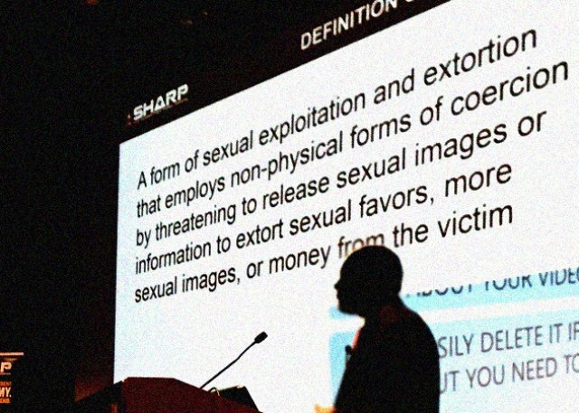 Internet enables 'sextortion' of users, experts say