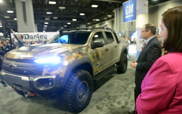 TARDEC, GM unveil tactical hydrogen vehicle