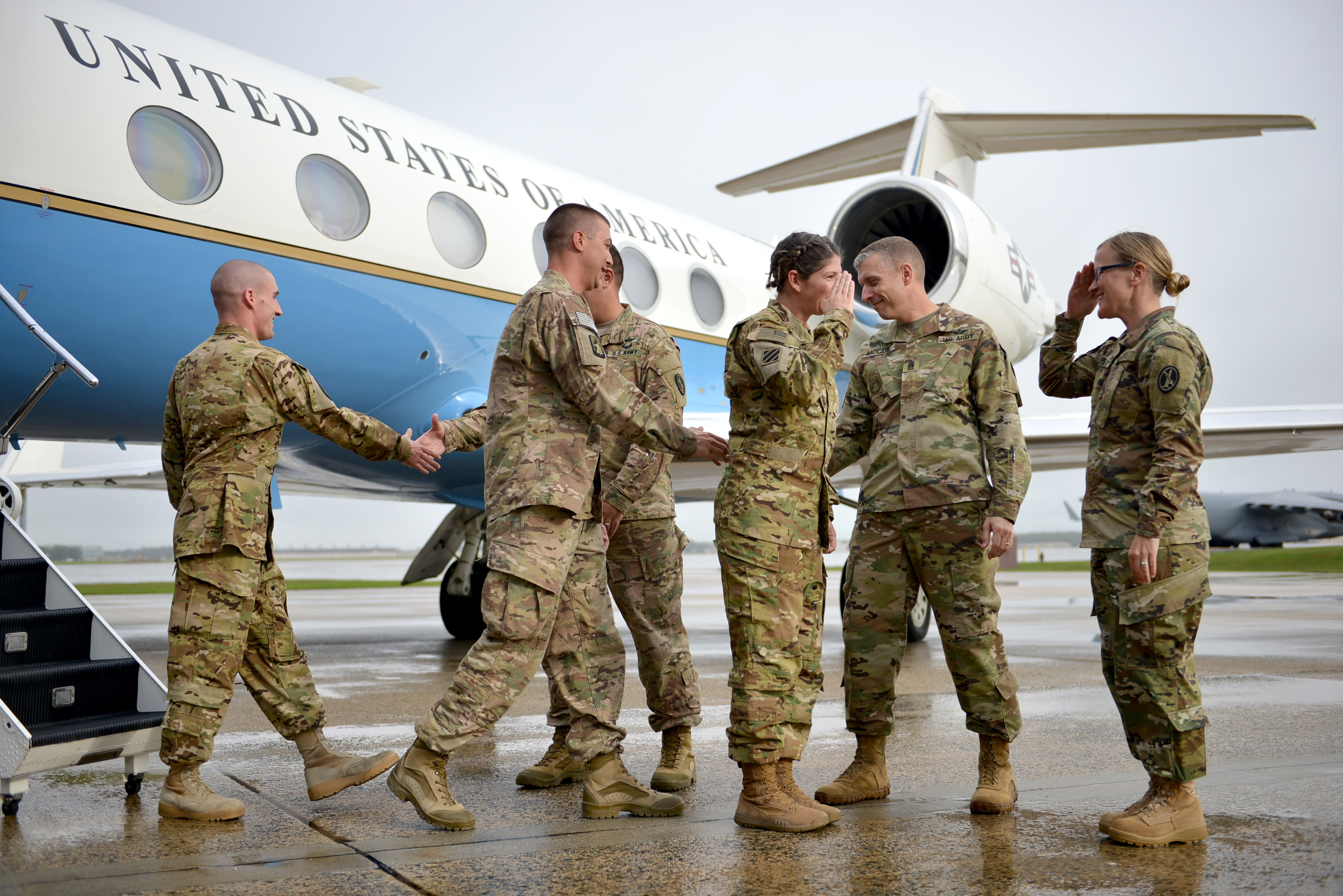 Pacific Flight Detachment welcomed home | Article | The United