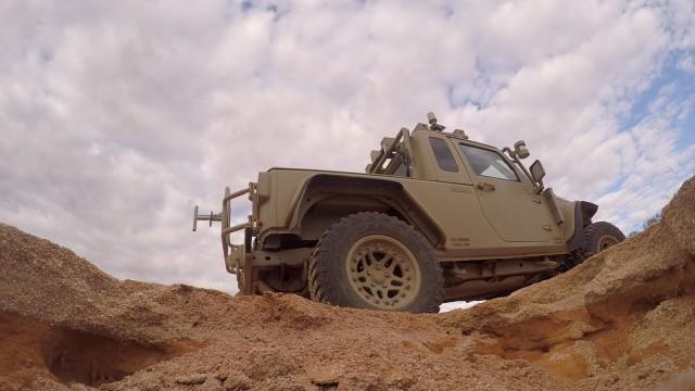 Using long-distance control, TARDEC tests robotic vehicle along challenging Australian terrain