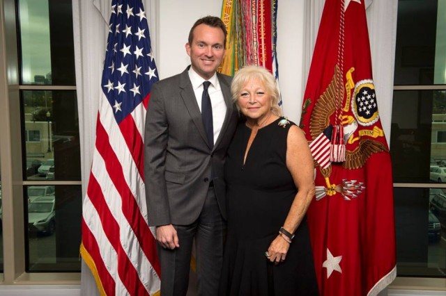 """WASHINGTON (October 7, 2016) -- The newest Civilian Aide to the Secretary of the Army (CASA) was invested during a ceremony conducted at the Pentagon in late September. Constance """"Connie"""" L. Milstein was appointed by Secretary of the Army Eric Fanning to represent Washington, D.C."""