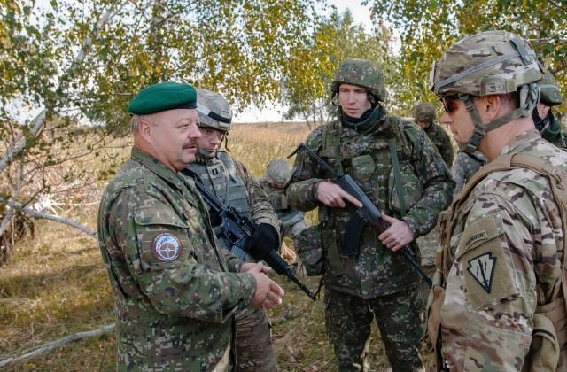 American, NATO allies unite at Slovak Shield 2016