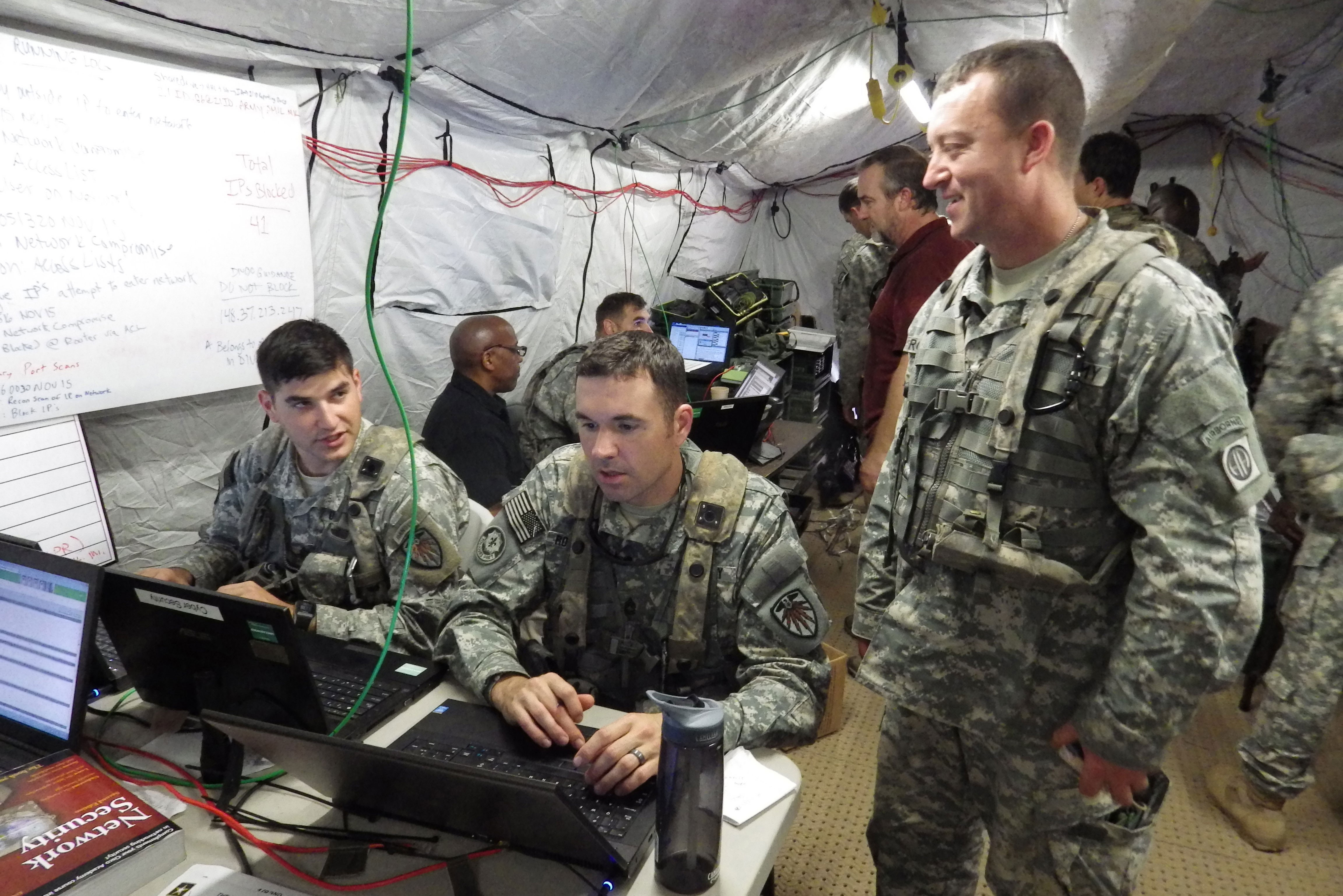 Clockspeed Dilemma Hobbling Army Cyber But Partnerships