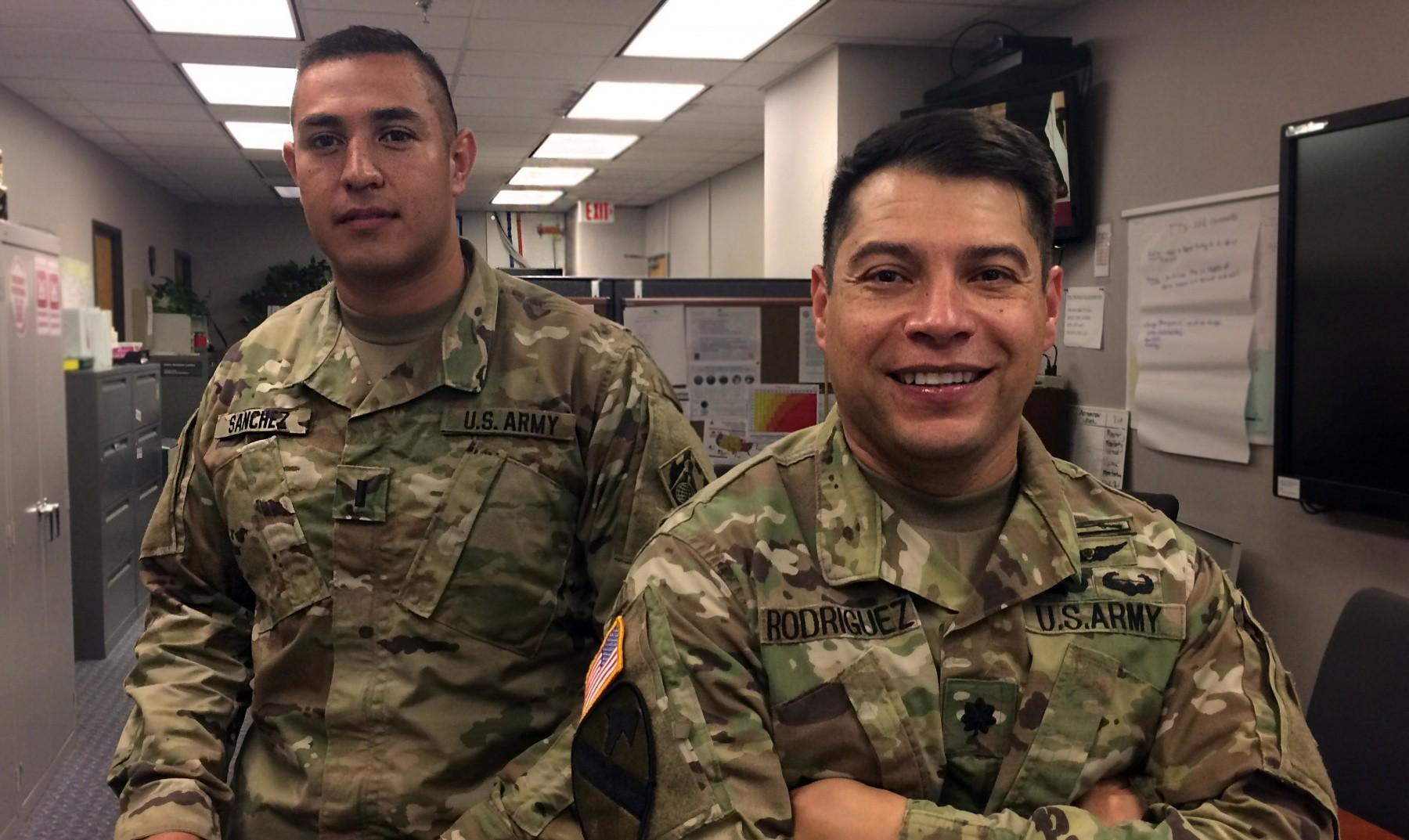 Hispanic soldiers