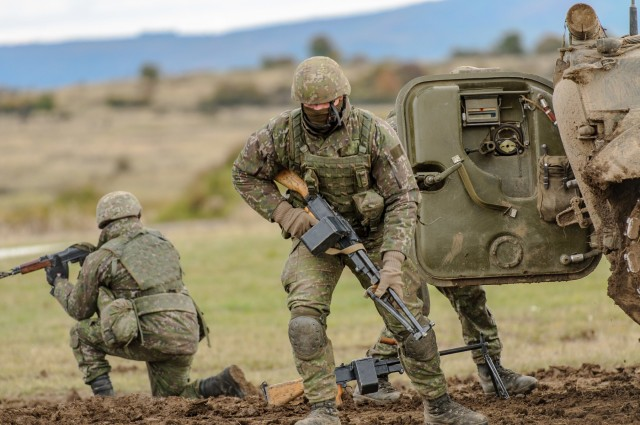 2nd Cavalry Regiment, National Guard Soldiers, NATO troops unify at Slovak Shield 2016