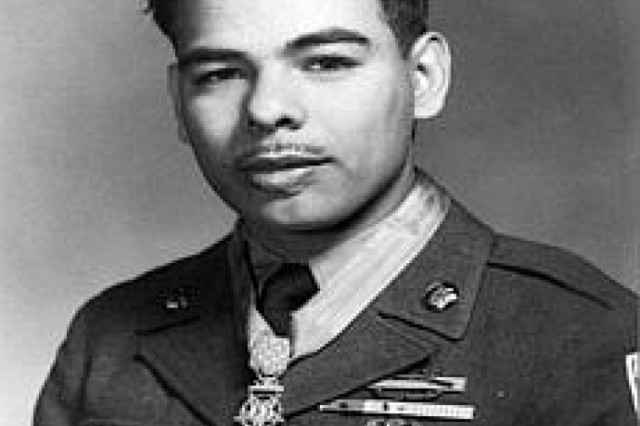 Medal of Honor recipient Rodolfo Hernandez.