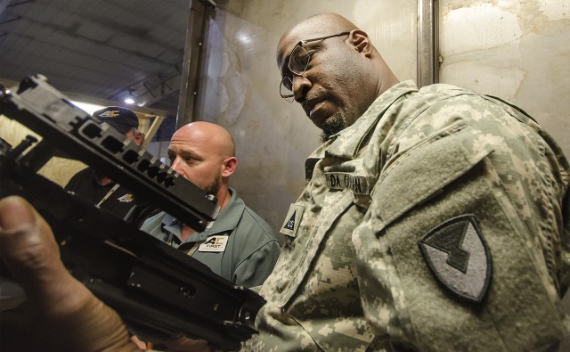 401st AFSBn-Afghanistan Quality Assurance Specialists help ensure combat readiness