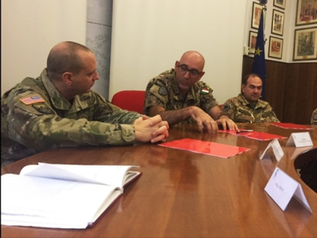 US, Italian signal Soldiers build partnership, strengthen alliance