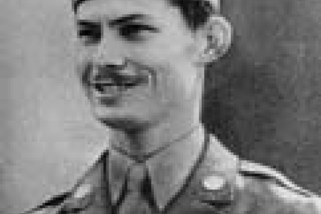 "Pfc. Desmond T. Doss, born in Lynchburg, Va., was a medic with the Army Medical Detachment, 307th Infantry, 77th Infantry Division.  He received the Medal of Honor for his courage near Urasoe Mura, Okinawa, during combat from 29 April to 21 May 1945. Doss was a Seventh Day Adventist and a conscientious objector who refused to carry a rifle.  He could have worked in a defense plant but choose to serve instead.  ""I didn't believe in taking a life,"" he said in 1987 to an Army Medical Department historian. ""I felt like God gave life, it wasn't for me to take.""  He died in 2006."