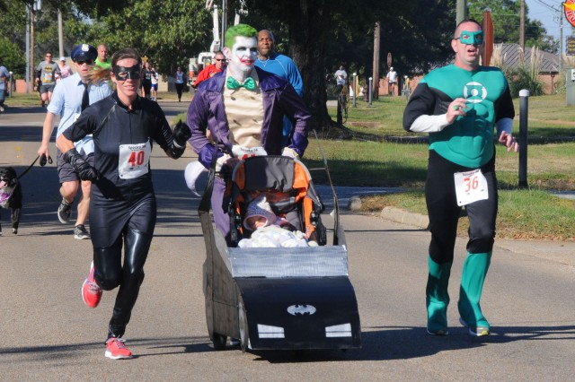 Runners take part in a previous Spooky 5k. This year's run is Oct. 29.