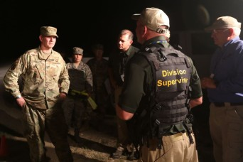 National Guard general commands joint services response force