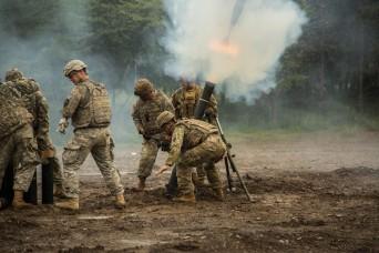 Orient Shield Mortar Fire