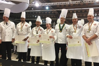 U.S. Army Culinary Arts Team wins five medals