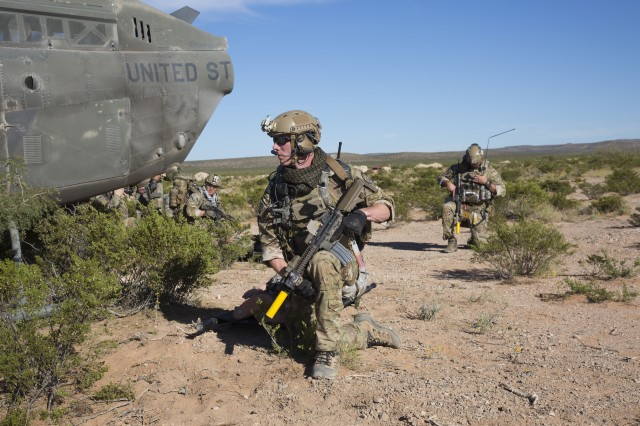 Special Forces Soldiers train at AWA 17.1